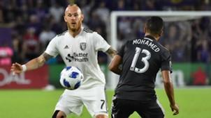 Magnus Eriksson Mohamed El-Munir San Jose Earthquakes Orlando City MLS