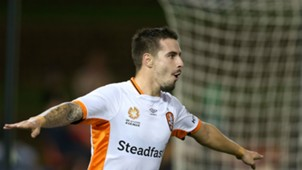 Jamie Maclaren Newcastle Jets v Brisbane Roar A-League 05032017