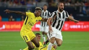 Gonzalo Higuain Juventus PSG ICC