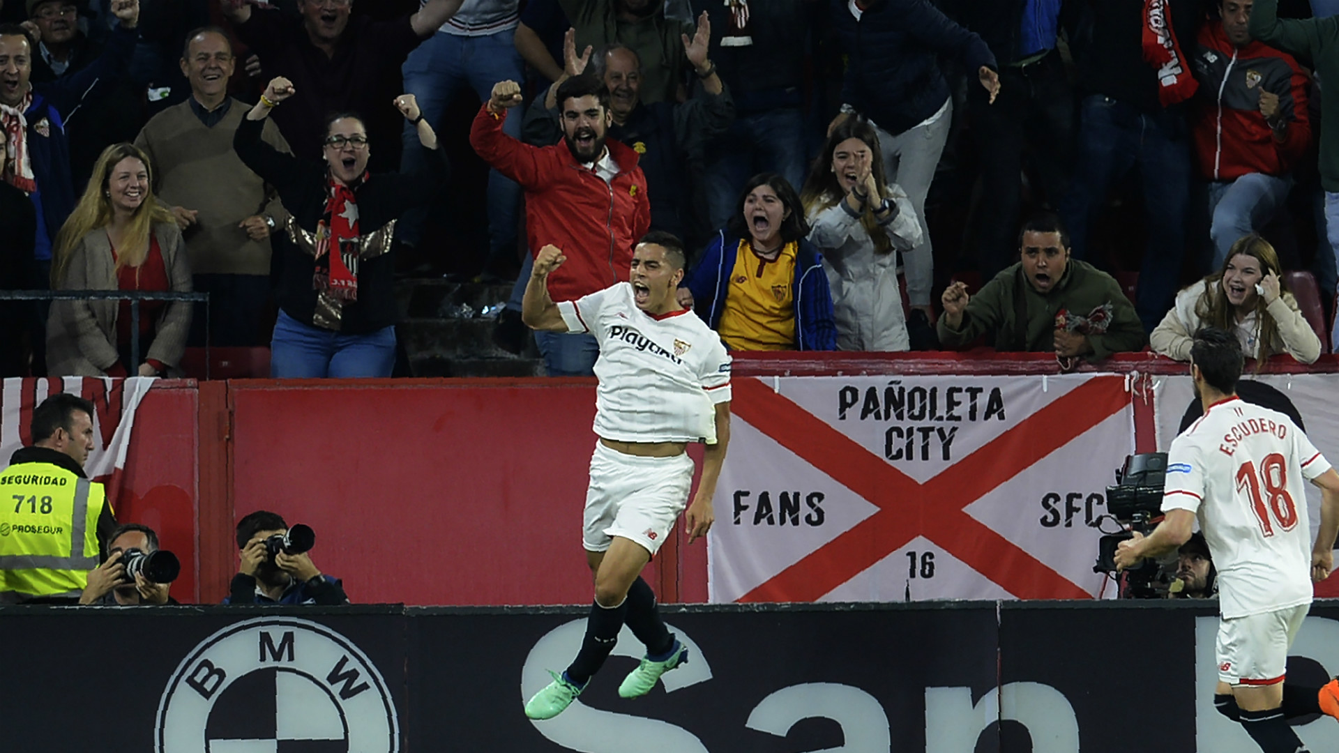 Ben Yedder Real Madrid Sevilla LaLiga