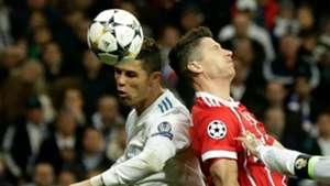 Cristiano Ronaldo Lewandowski Real Madrid Bayern Champions League 01 05 2018
