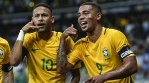 Neymar Gabriel Jesus Brazil 2016