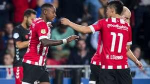 Steven Bergwijn Hirving Lozano PSV 08112018
