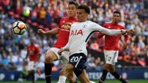 Dele Alli Ander Herrera Manchester United Tottenham FA Cup SF 21042018