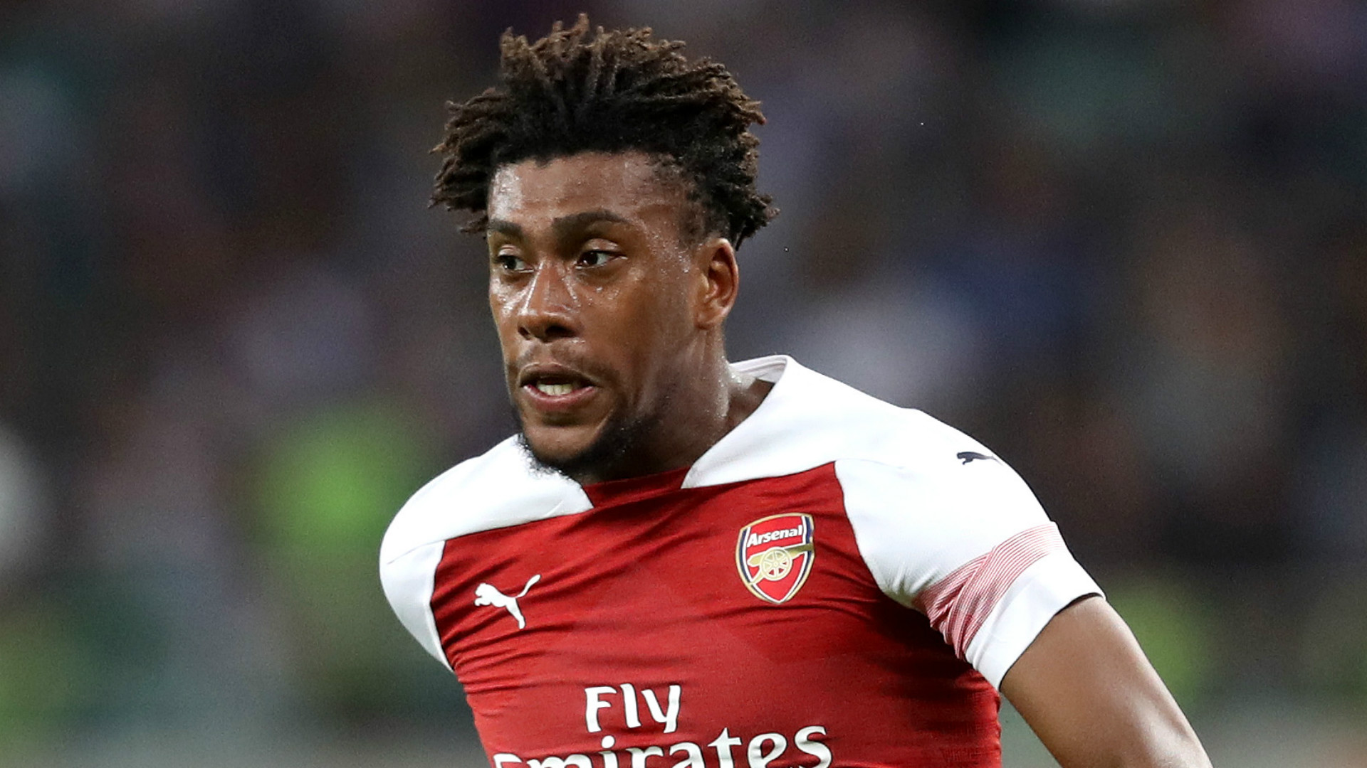 Alex Iwobi Arsenal 2018-19