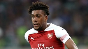 Alex Iwobi Arsenal 2018-19