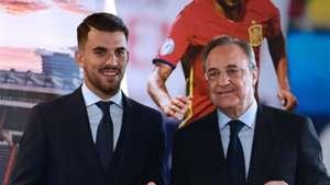 Florentino Pérez Dani Ceballos Real Madrid