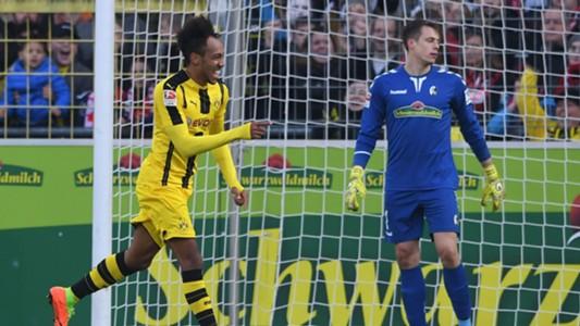 Pierre-Emerick Aubameyang - Borussia Dortmund - Freiburg 26012017
