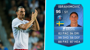 FIFA Cards - Ibrahimovic