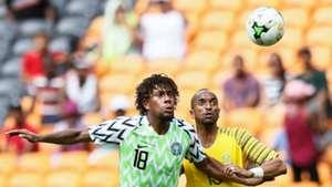 Alex Iwobi, Tiyani Mabunda - South Africa vs. Nigeria