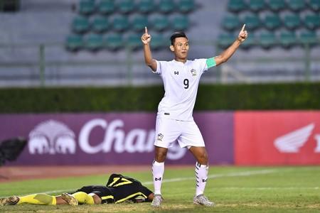 Chenrop Samphaodi, Thailand U23, U23 AFC Championship qualifiers, 21072017