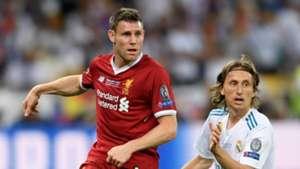 James Milner Liverpool Luka Modric Real Madrid Champions League