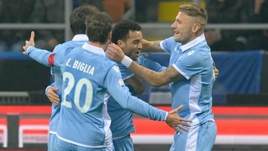 Lucas Biglia Felipe Anderson Inter Lazio