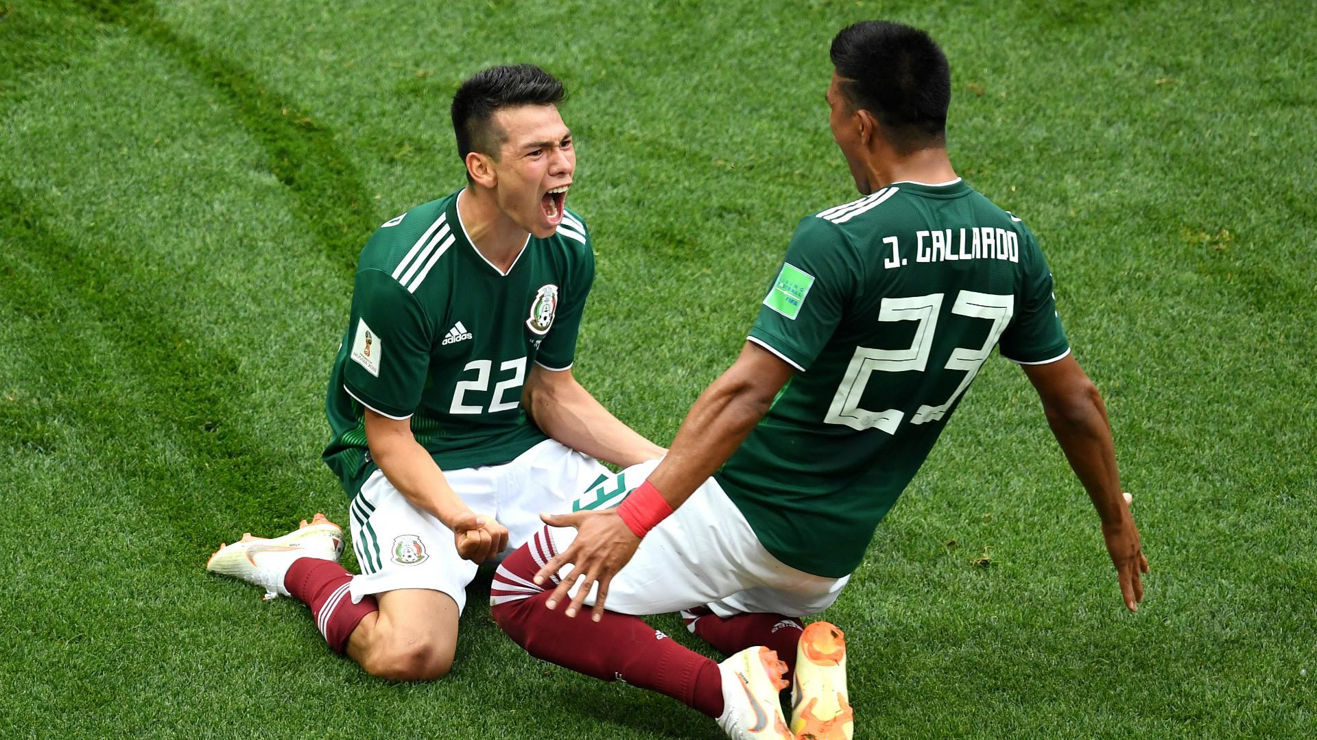 Hirving Lozano Jesus Gallardo Mexico
