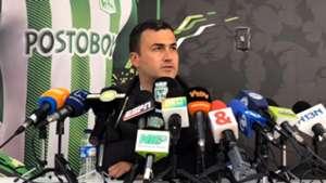 Juan David Pérez Atlético Nacional 2018