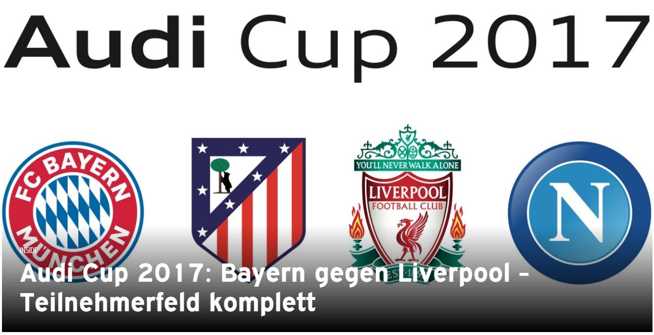 NEW FCB LOGO AUDI CUP