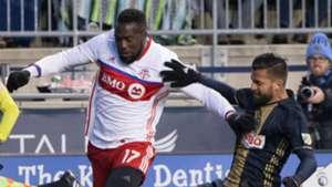 Jozy Altidore Richie Marquez Toronto FC Philadelphia Union MLS 031117