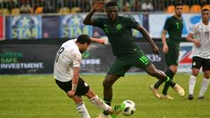 Tarek Hamed, John Ogu - Nigeria vs. Egypt