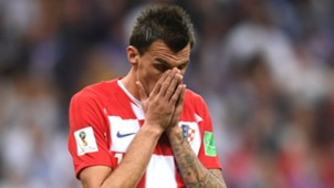 france croatia - mario mandzukic - world cup final - 15072018