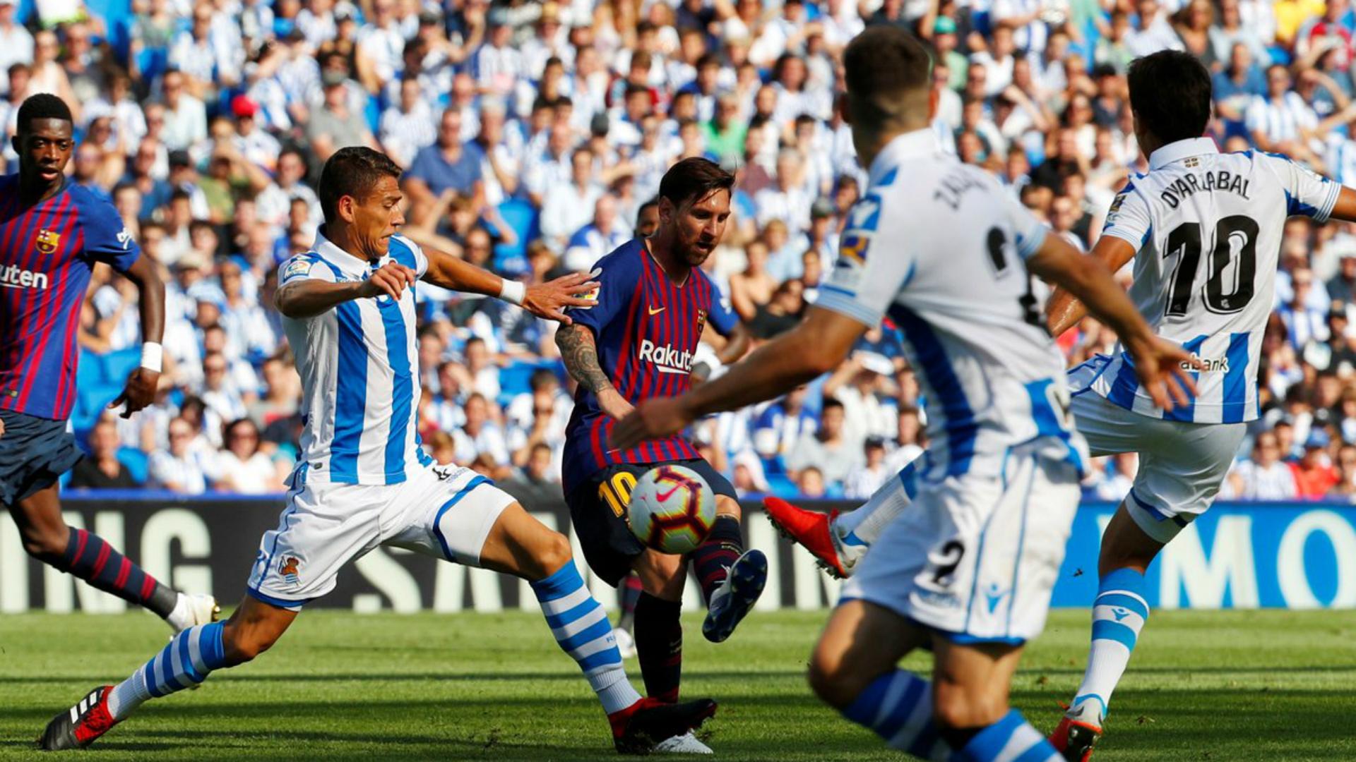 Héctor Moreno Real Sociedad - Barcelona