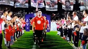 Pasillo Newell's Independiente Captura TV