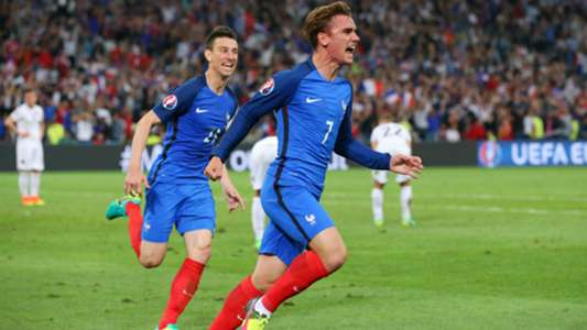 Antoine Griezmann France Albania UEFA Euro 2016 15062016