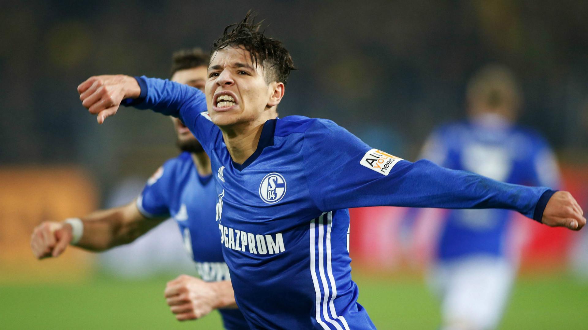 Amine Harit FC Schalke 04 Borussia Dortmund 25112017