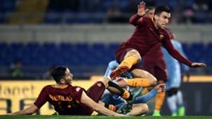 Sergej Milinkovic-Savic Kevin Strootman Lazio Roma Coppa Italia