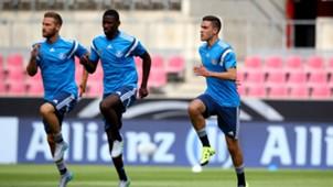 Shkodran Mustafi Antonio Rüdiger Jonas Hector Germany Deutschland DFB-Team 28052016