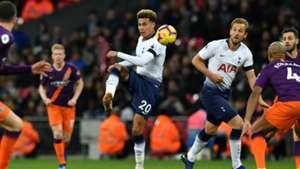 Dele Alli Harry Kane Tottenham Manchester City 2018-19
