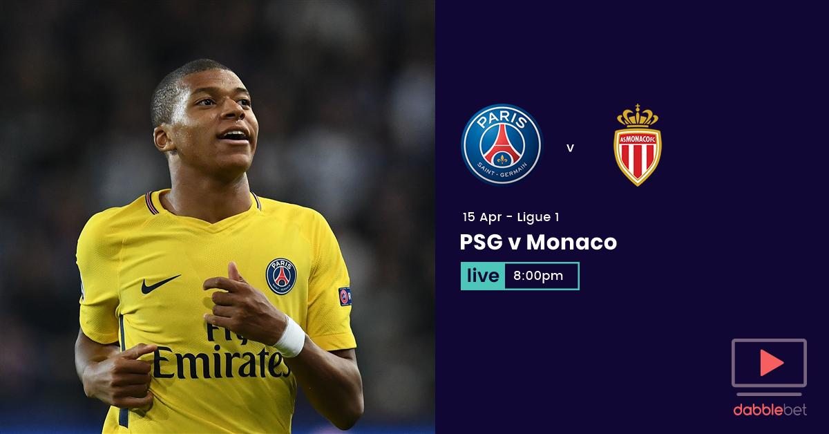 PSG Monaco graphic