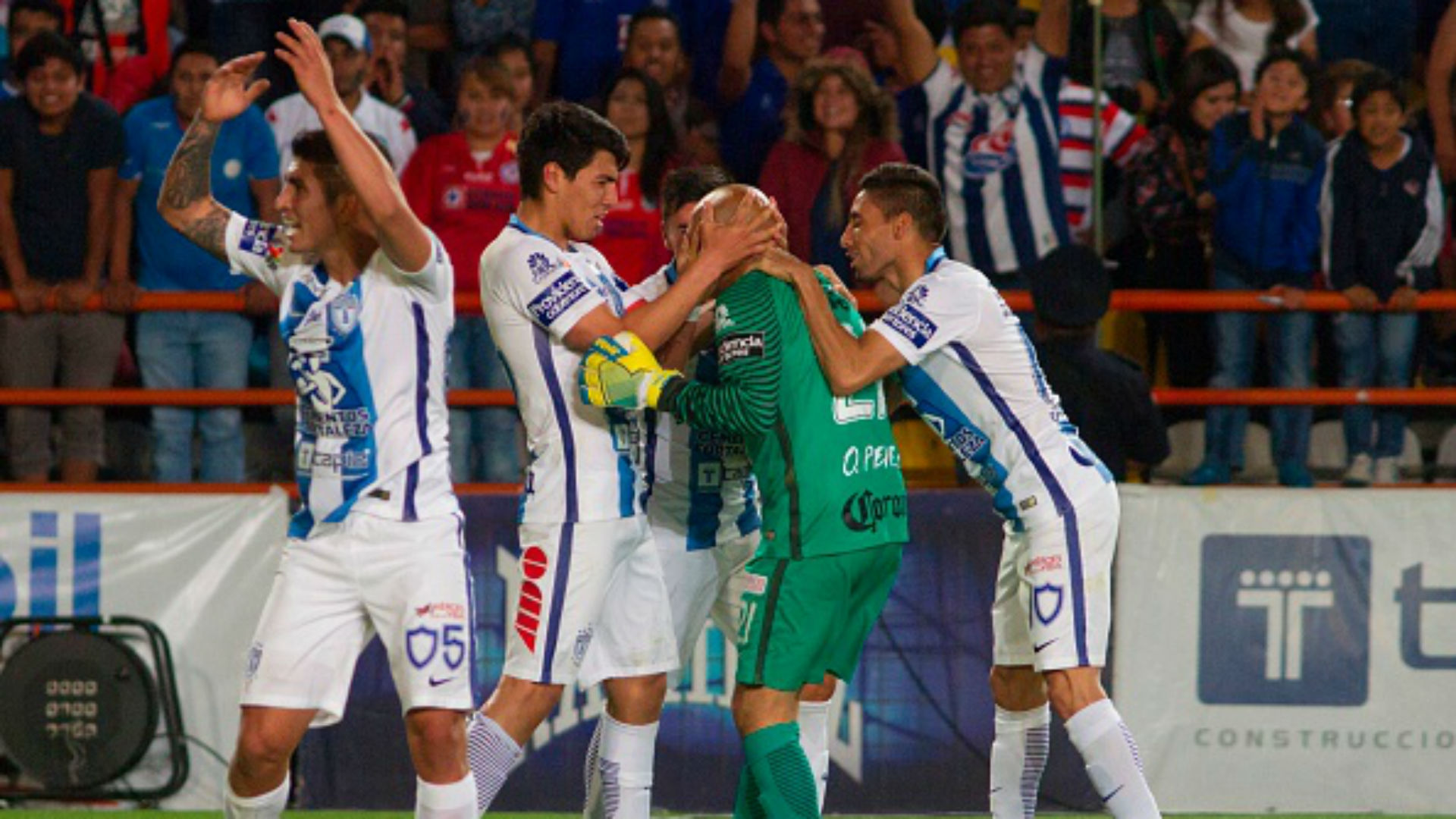 Oscar Perez Pachuca Liga MX Mexico Clausura 2017
