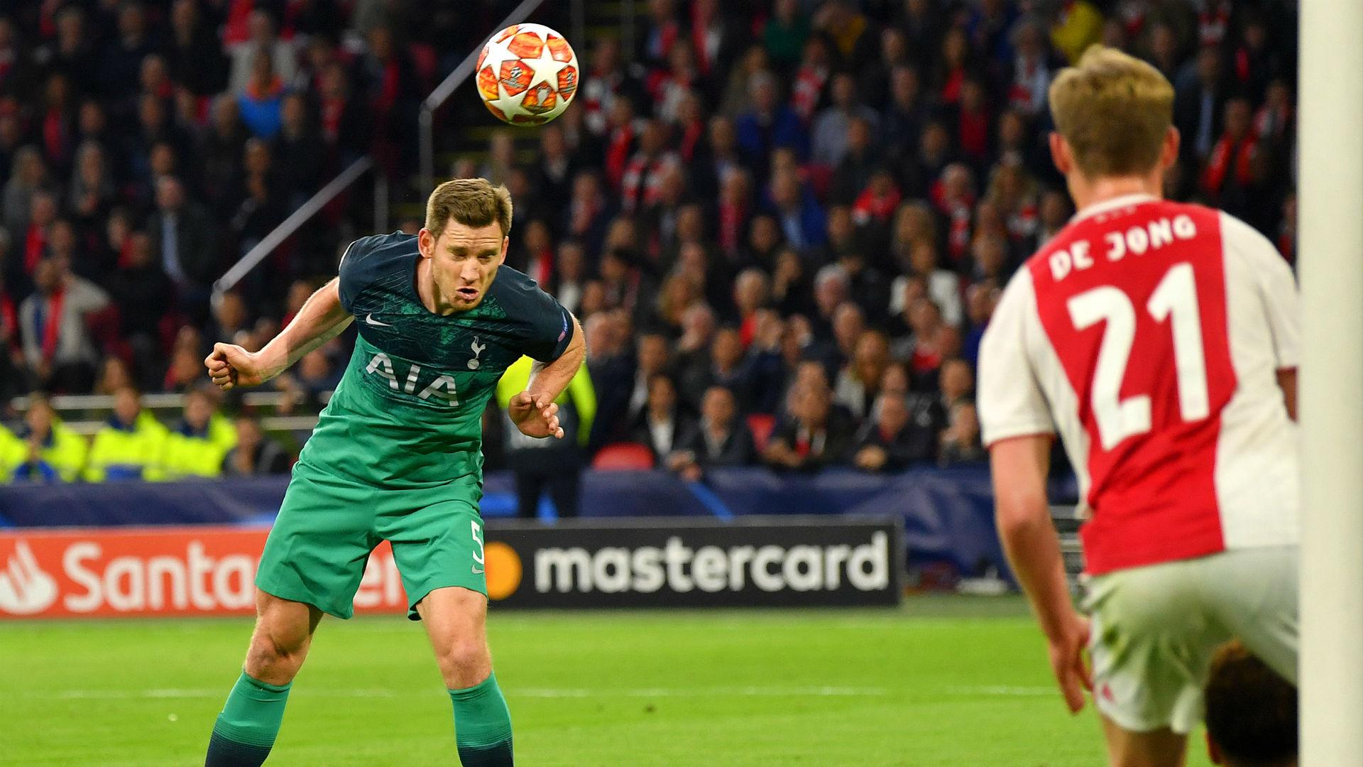 Jan Vertonghen Tottenham Ajax Champions League 2019