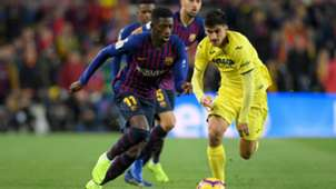 Ousmane Dembele Barcelona Villarreal