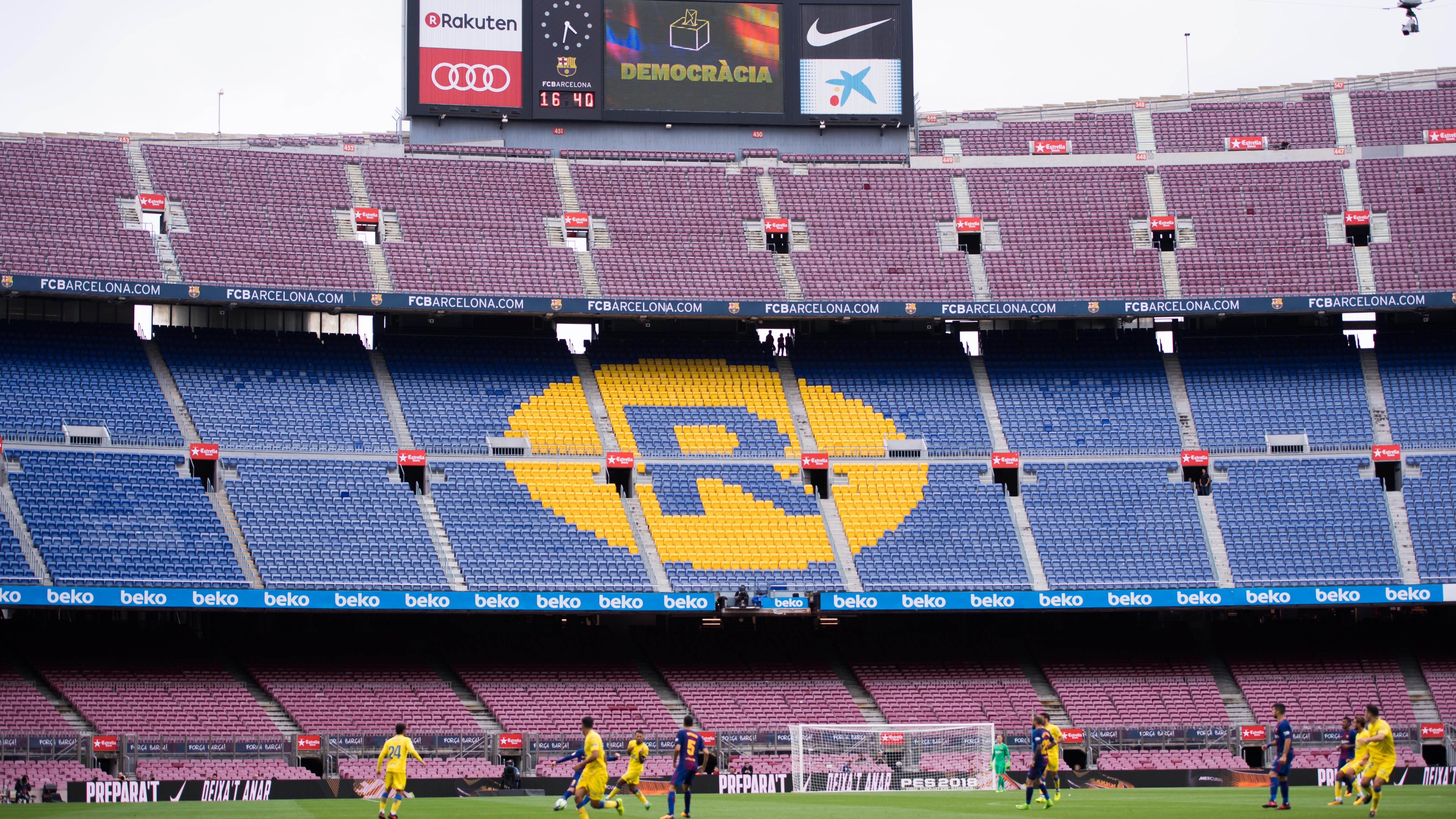 El Girona CF también se suma a la huelga en Cataluña