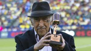 Don Melquiades Sánchez voz Estadio Azteca 051118