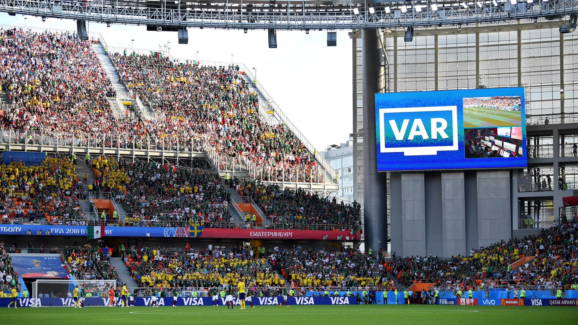 VAR Sweden Mexiko World Cup 270618