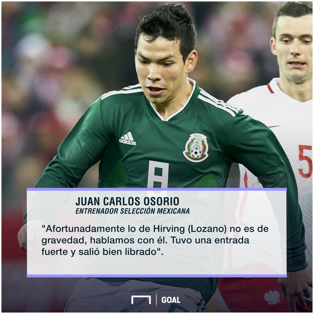 Osorio lesión Hirving Lozano 120218