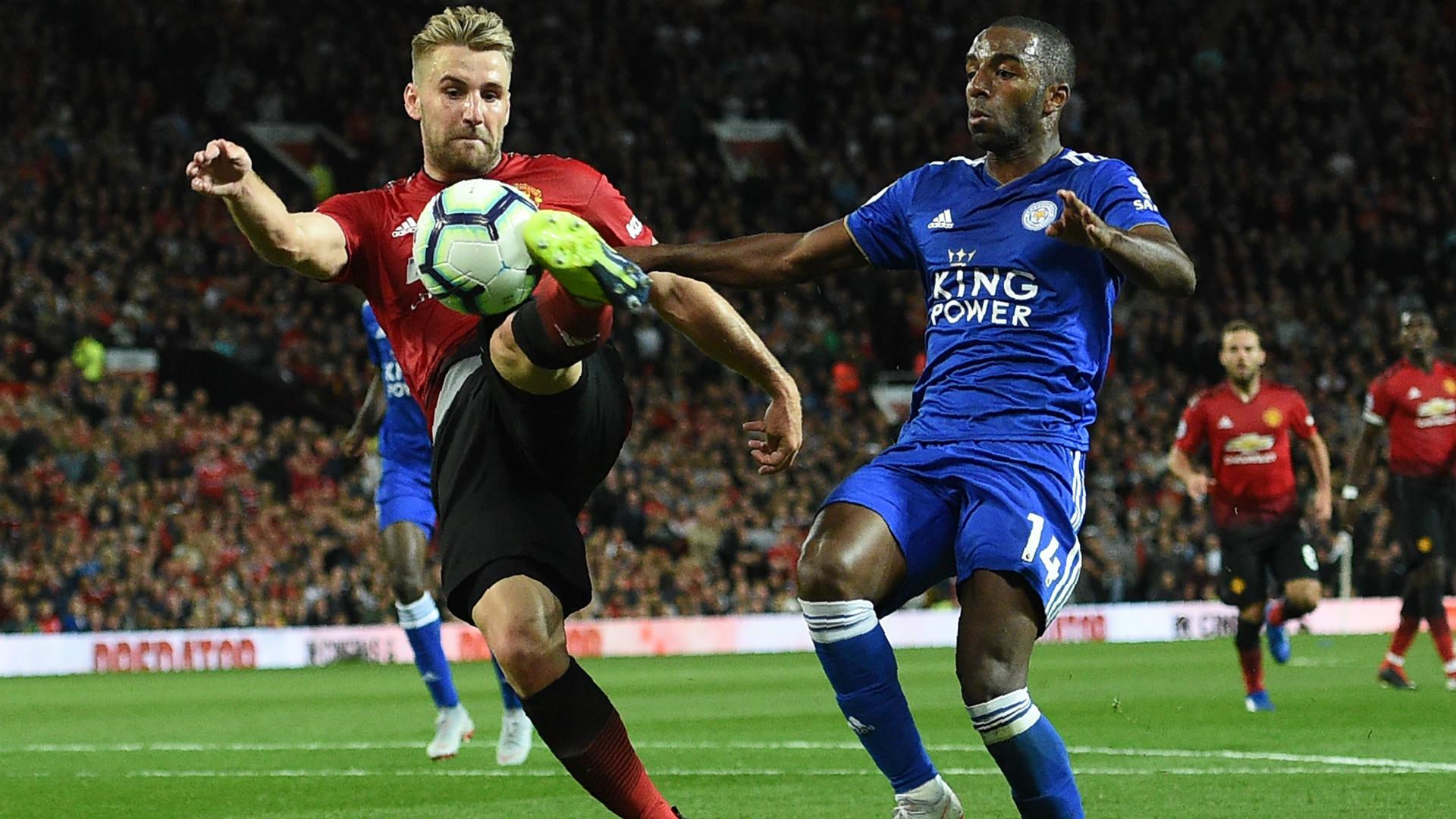 Luke Shaw Manchester United 10082018
