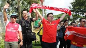 Arsenal fans ICC 2018 Singapore