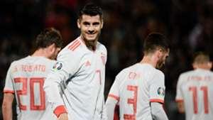 Alvaro Morata Malta Spain España EURO 26032019