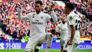 Sergio Ramos Atletico Madrid Real Madrid LaLiga