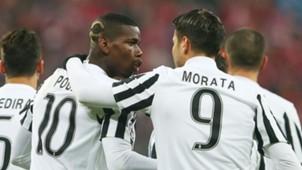 Paul Pogba Alvaro Morata Juventus