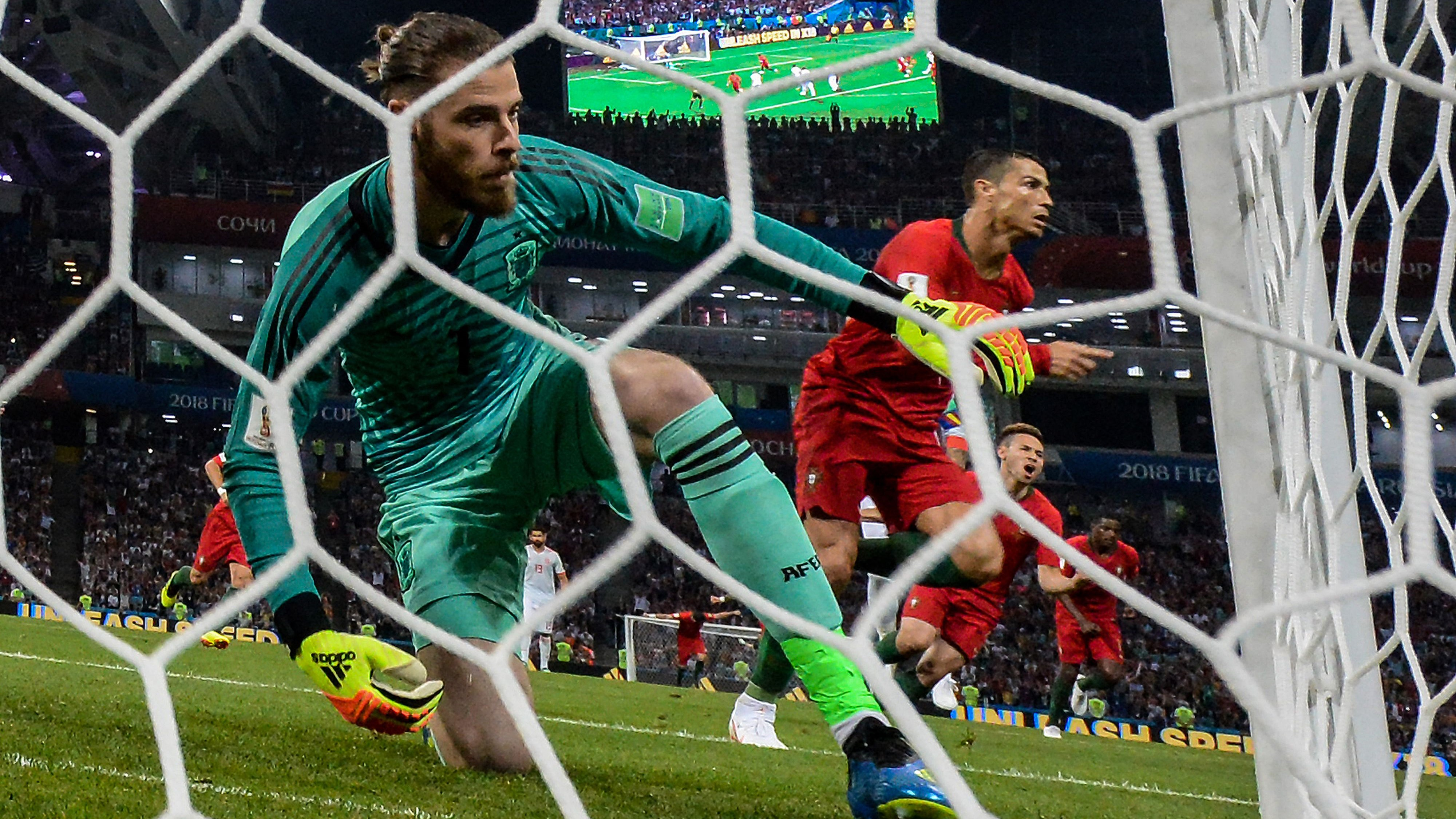 David de Gea Portugal España Spain World Cup 15062018