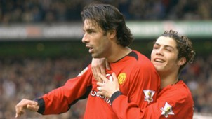 Van Nistelrooy Cristiano Ronaldo Manchester United Premier League