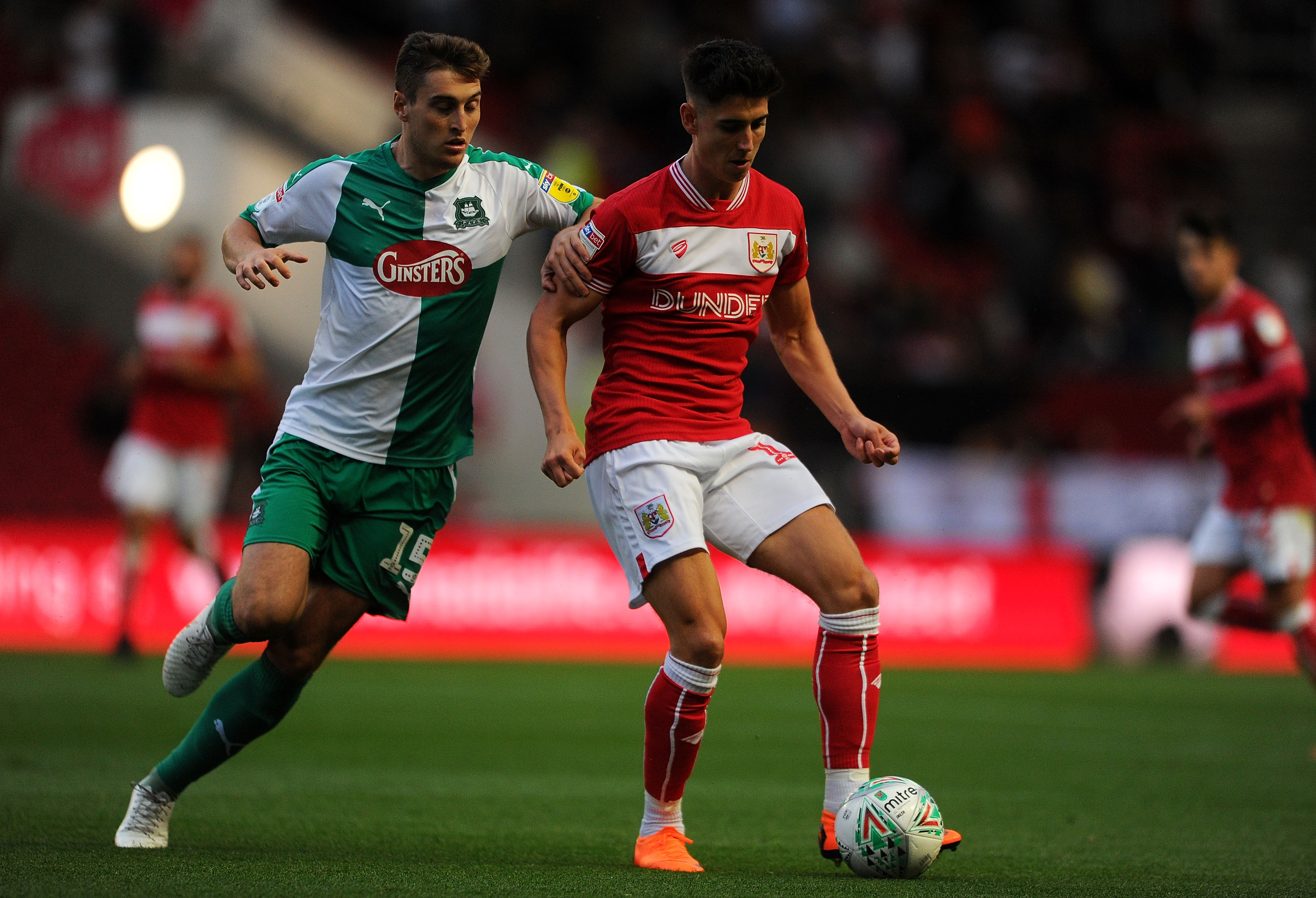 Bristol City v Plymouth Carabao Cup First Round 140818