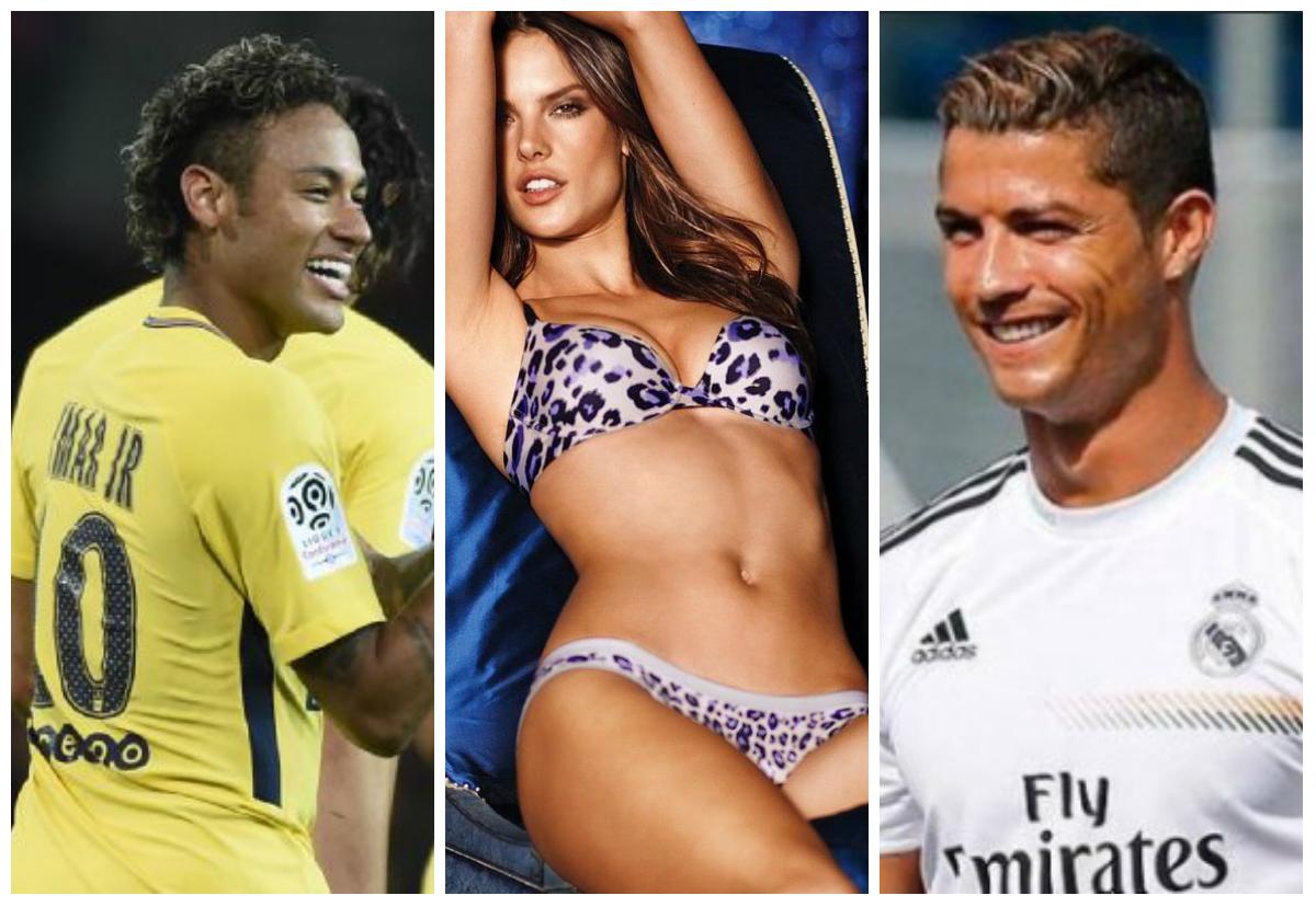 Alessandra Ambrosio admite que beijaria Cristiano Ronaldo — Vídeo