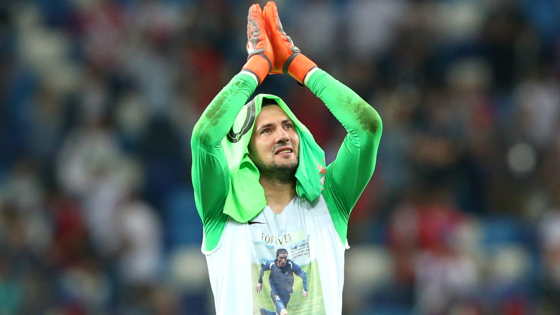 Danijel Subasic Croatia World Cup 01072018