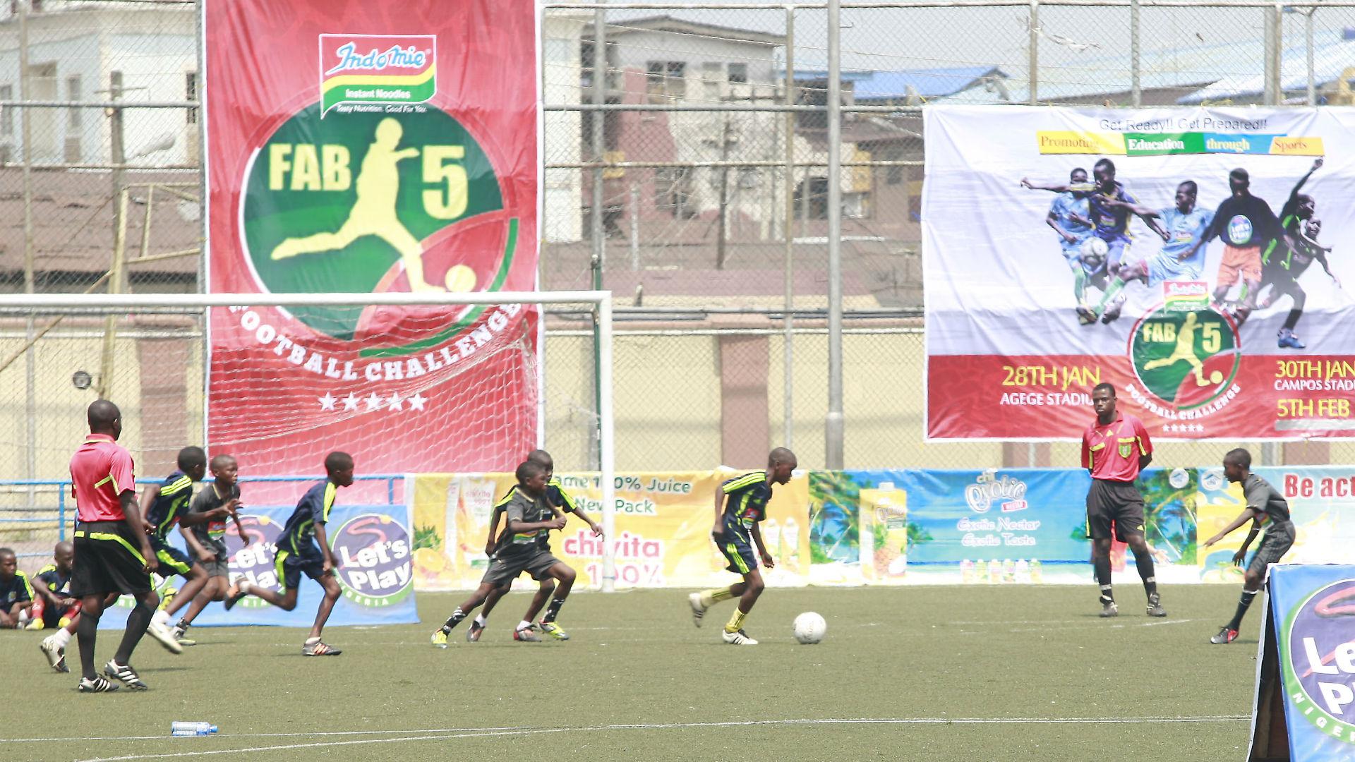 Fab-5 Football