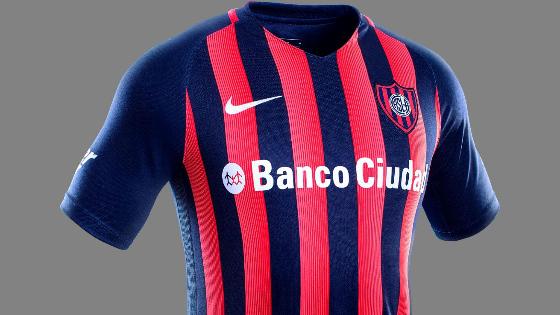 Camiseta San Lorenzo 2017